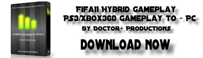 kpccnum5 FIFA 11 Hybrid Gameplay Patch 3.0.4 FINAL VERSION by Doctor+