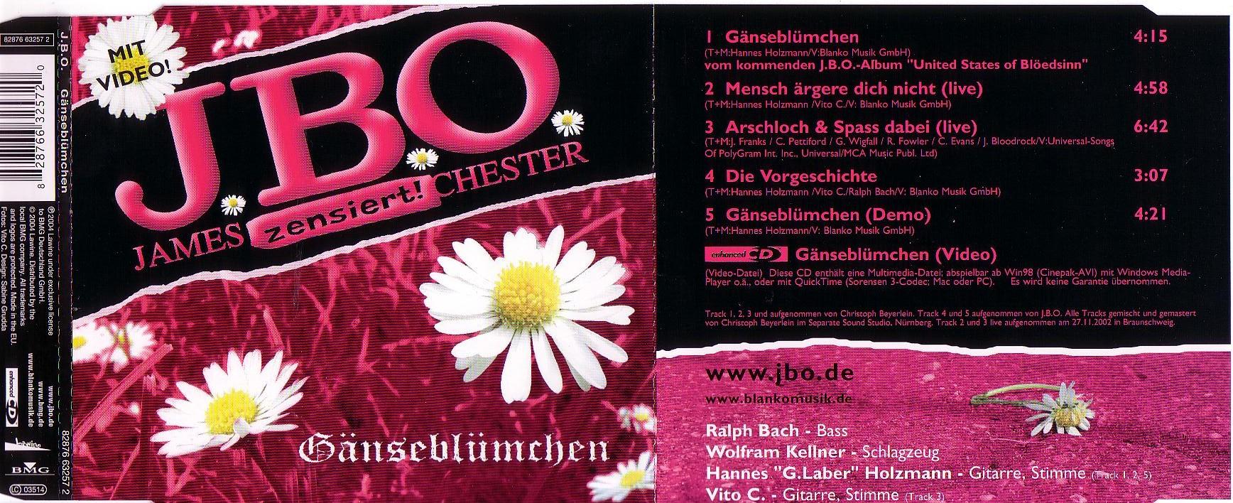 J.B.O.-Gaensebluemchen-CDM-DE-2004