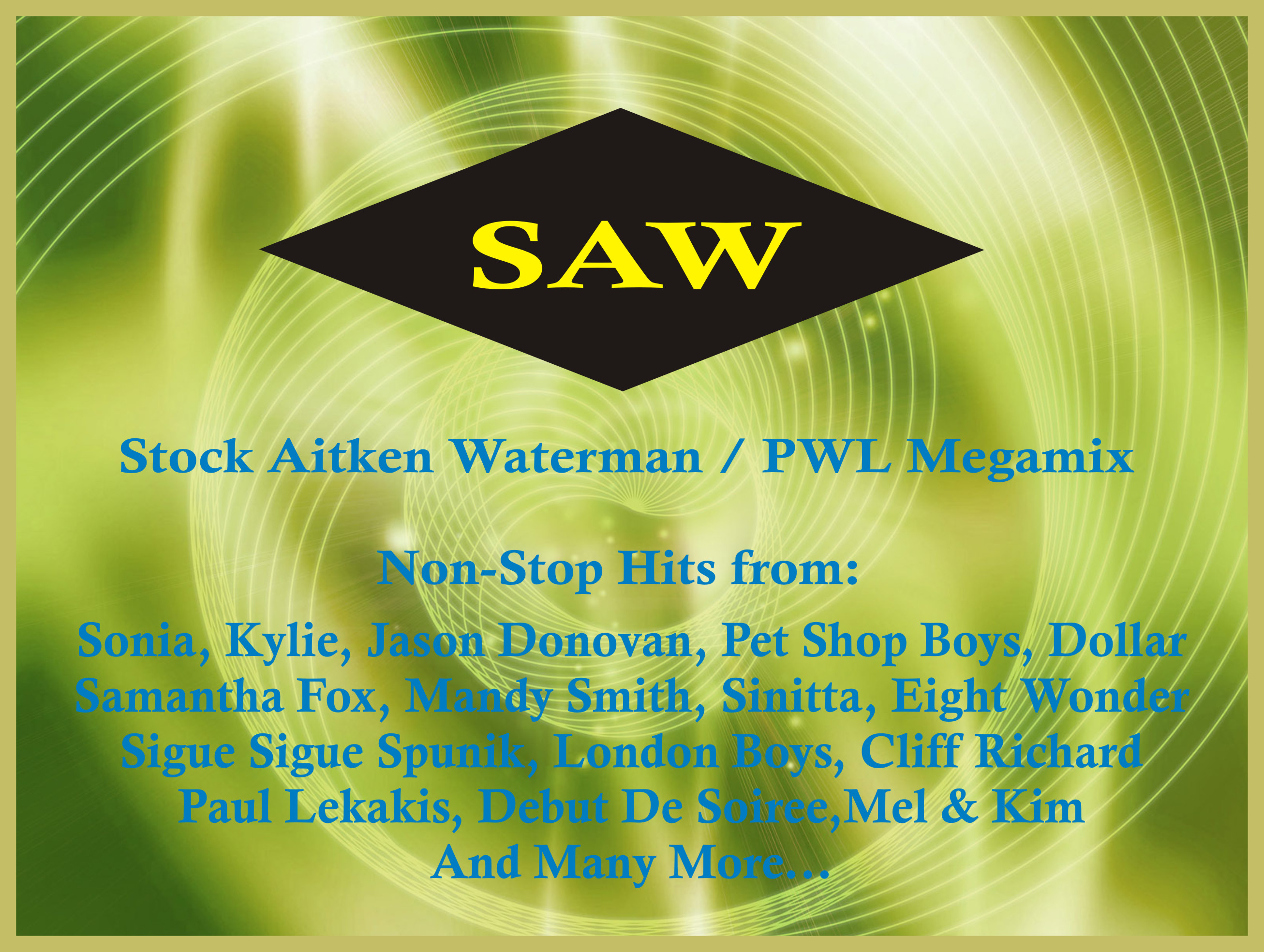 Stock Aitken Waterman PWL Megamix