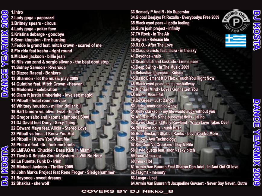 DJ Kosta - Dance Yearmix 2009