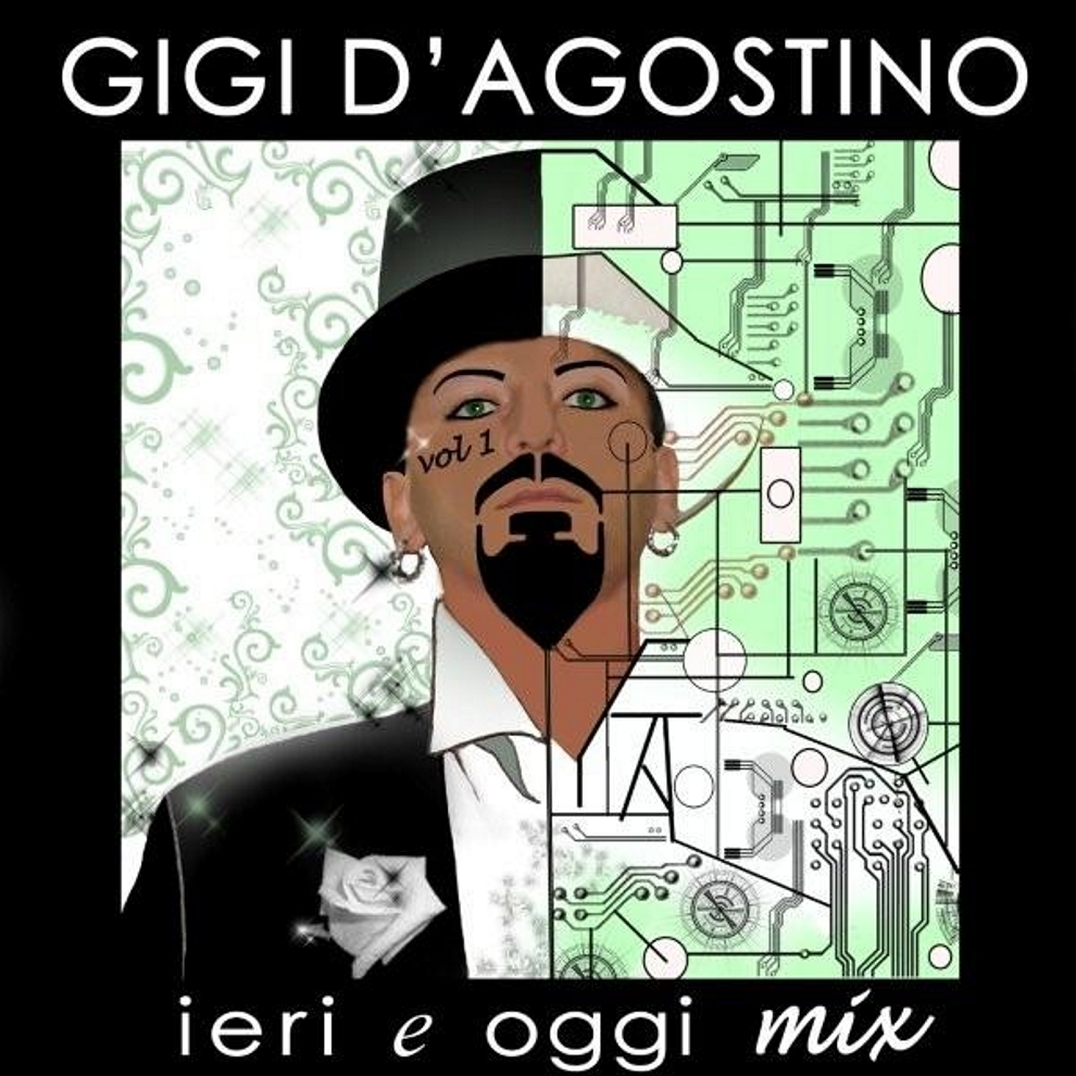 Gigi D'Agostino-Ieri E Oggi Mix Vol.1 cd-2010