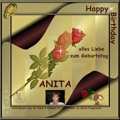 Anita Geburtstag